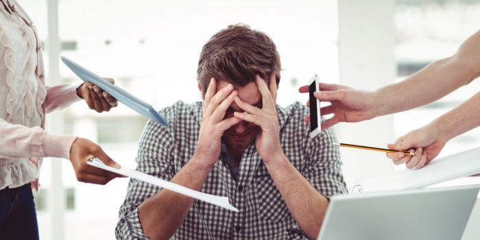 dealing with work stress